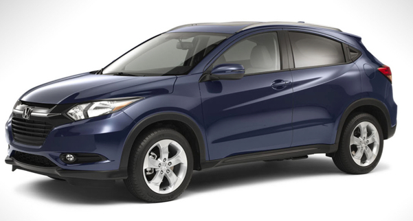 2016 honda hr v crossover. Black Bedroom Furniture Sets. Home Design Ideas
