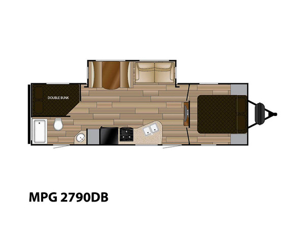 Cruiser RV MPG 2790DB | Longmont Colorado