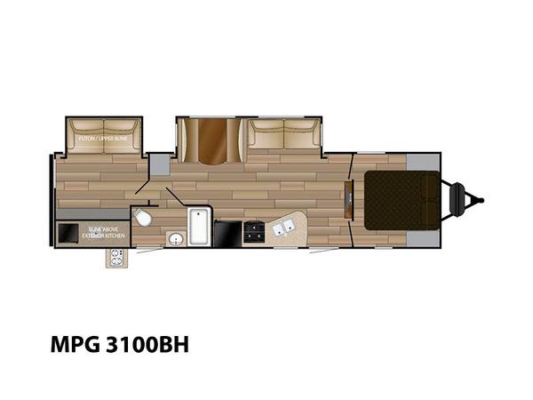 Longmont CO l Cruiser RV MPG 3100BH