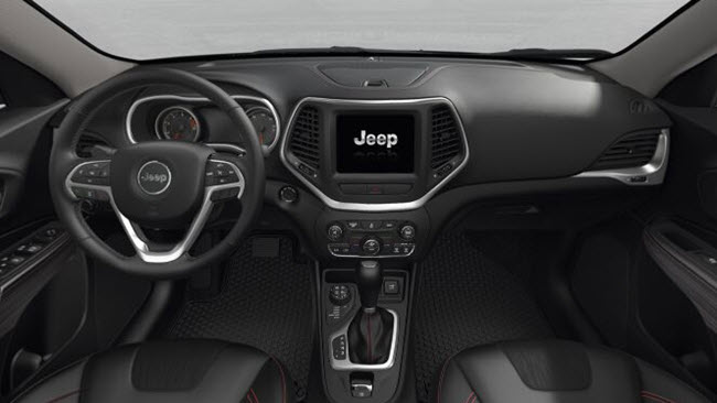 2017 jeep cherokee near winston salem nc for Interior of jeep cherokee 2017