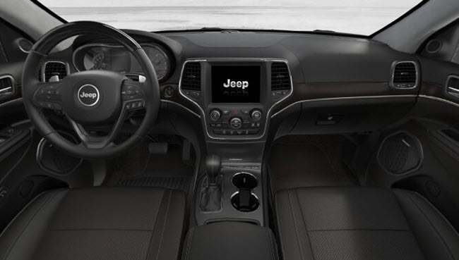 2017 jeep grand cherokee summit near fort wayne for Interior of jeep cherokee 2017