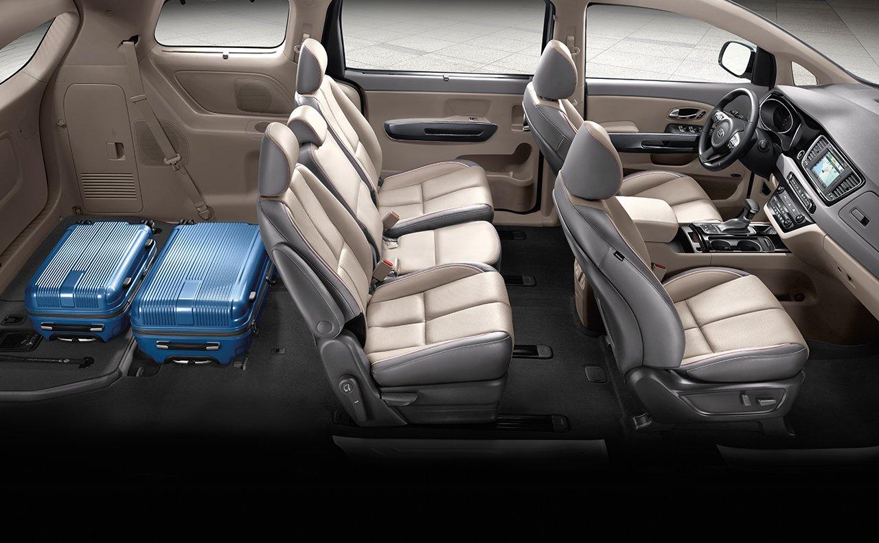 Minivan Interior Dimensions >> 2018 KIA Sedona SX Limited near Lawrence Kansas Briggs Kia | New Kia dealership in Topeka, KS 66611