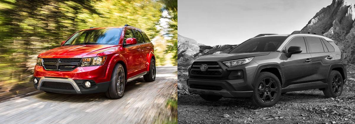 2020 Dodge Journey vs 2020 Toyota RAV4 in City of Industry CA