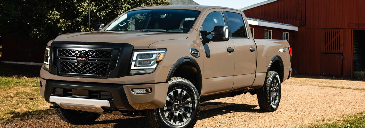 Take home a 2020 Nissan Titan XD in Lakewood CO