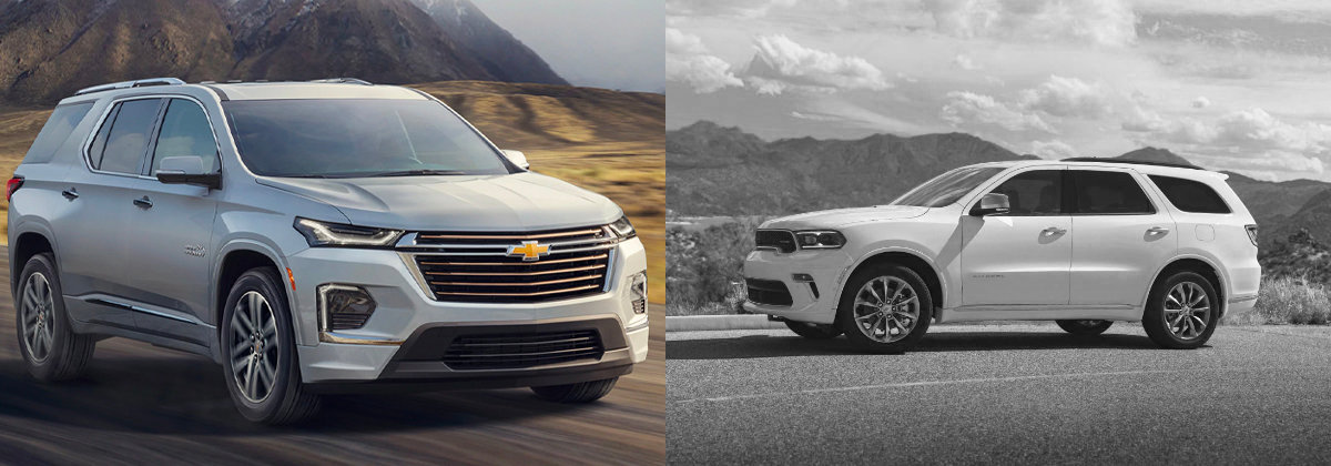 Drive Taylor - Explore the 2021 Chevrolet Traverse vs 2021 Dodge Durango near New Castle PA
