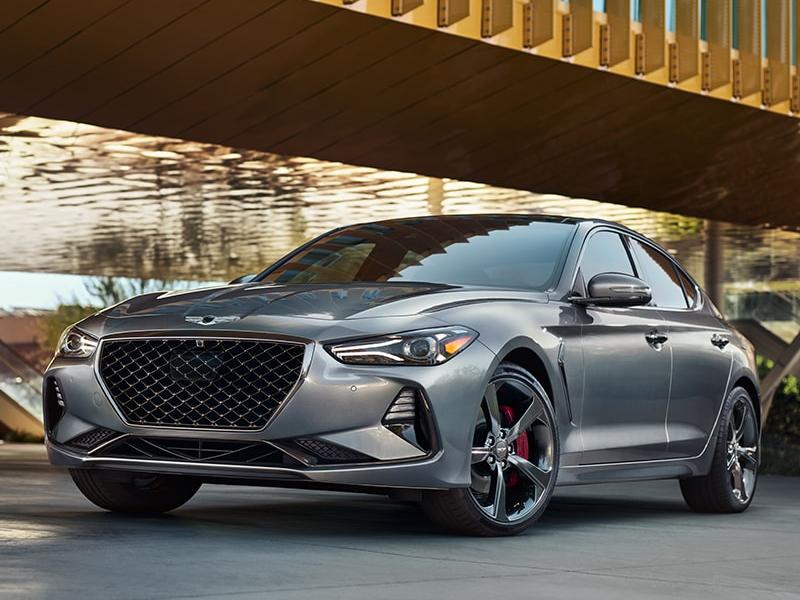 The 2021 Genesis G70 rules the luxury market near Newport RI