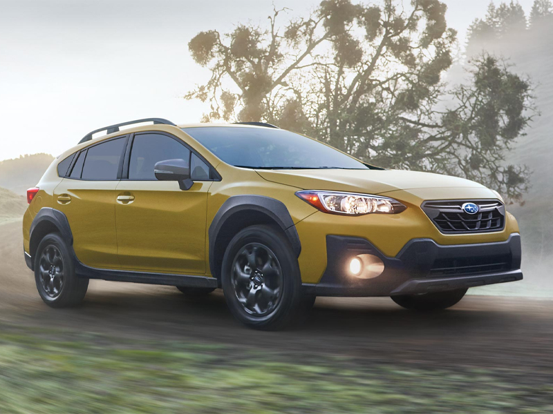 2021 Subaru Crosstrek offers exceptional features near Louisville CO