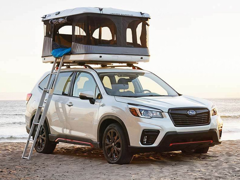See the upgraded 2021 Subaru Forester near Warren MI