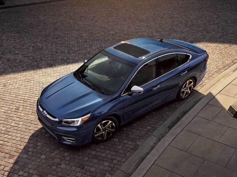 Experience great sound in a 2021 Subaru Legacy near Detroit MI