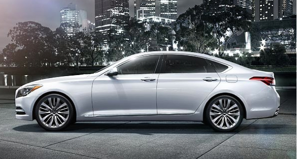 2015 Hyundai Genesis 5.0.