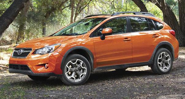 Subaru crosstrek 2015 colors