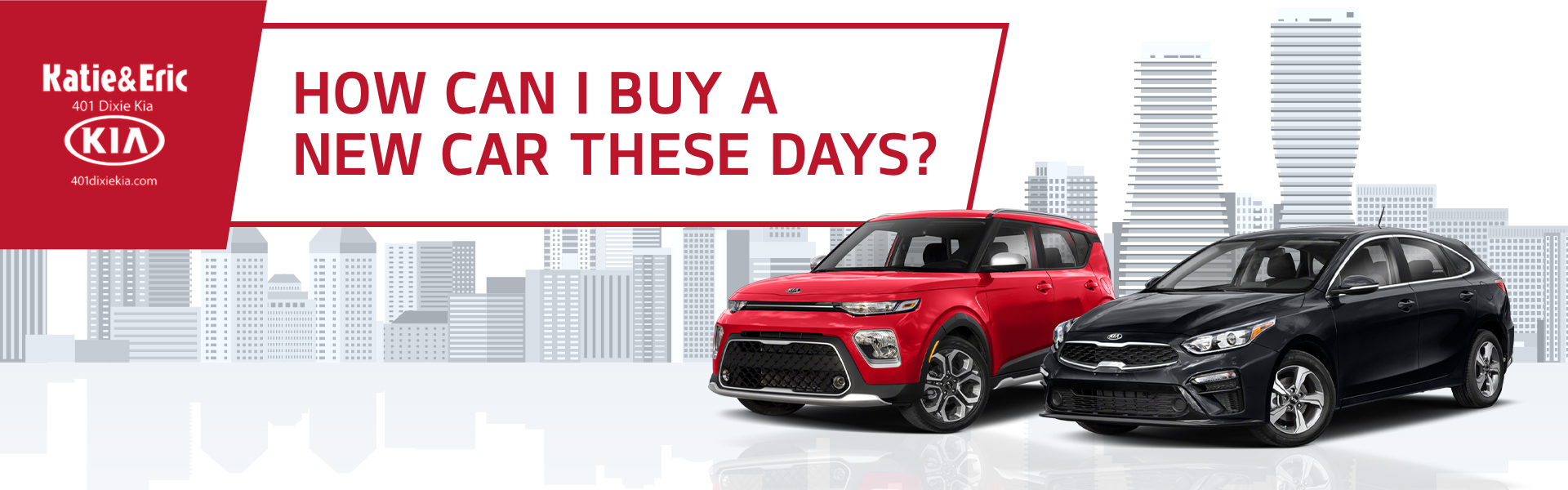 401 Dixie Kia - How can I buy a new car these days?