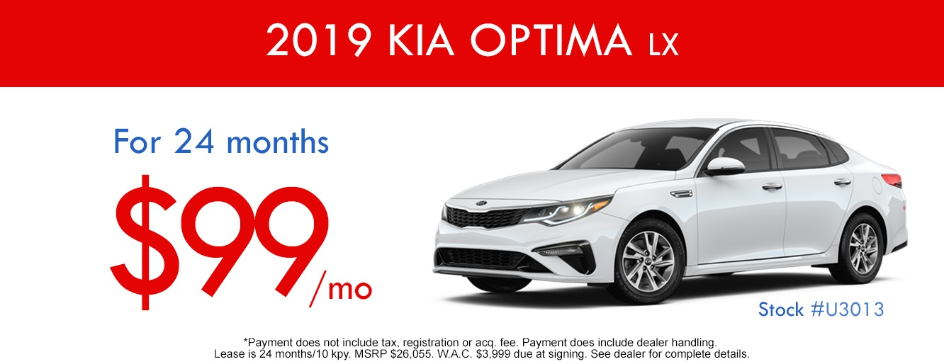 2019 Kia Optima Lease And Specials In Centennial Colorado Arapahoe Kia