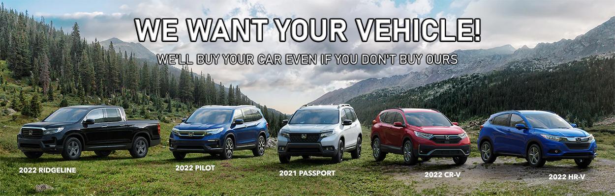 We Want Your Vehicle in West Burlington