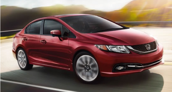2015 Honda Civic.