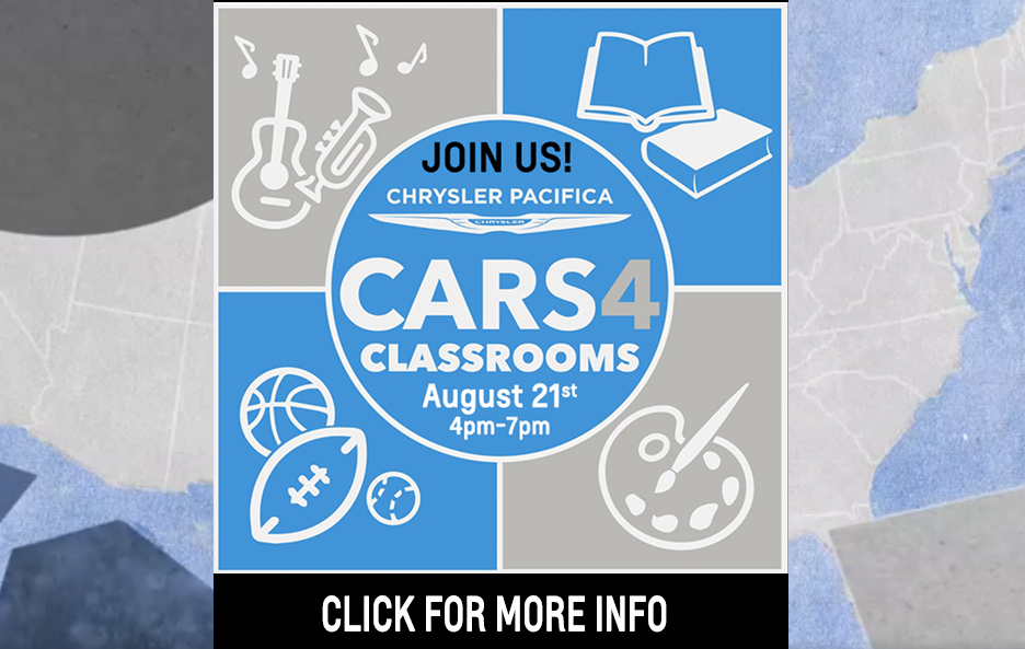 CARS 4 CLASSROOMS Fundraiser!