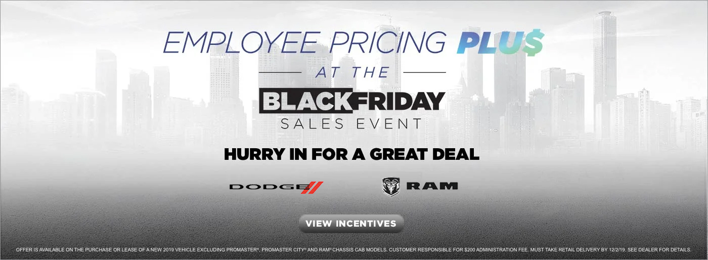 Employee Pricing PLUS at the Black Friday Sales Event in Albuquerque NM