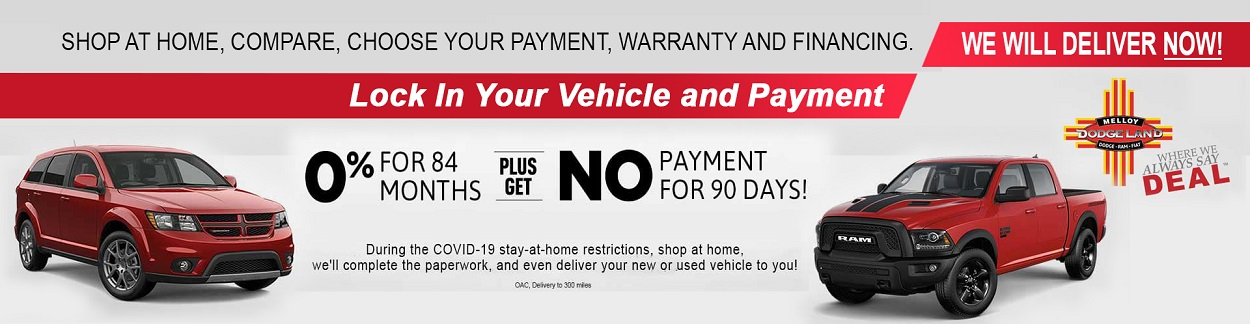 Buy your car from the comfort of home in New Mexico