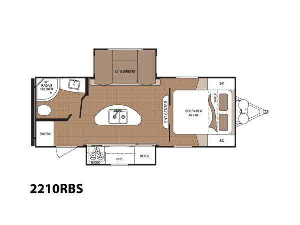 Denver Colorado - Dutchmen ASPEN TRAIL RV Floorplan
