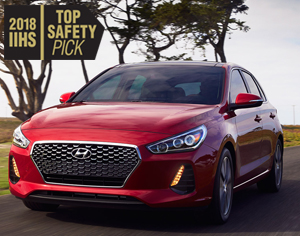 2018 ELANTRA GT named a 2018 IIHS Top Safety Pick