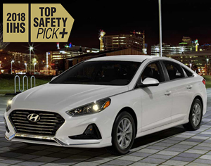 2018 SONATA named 2018 IIHS Top Safety Pick+