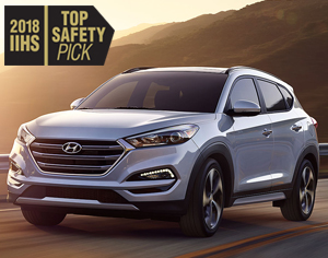 2018 TUCSON named 2018 IIHS Top Safety Pick