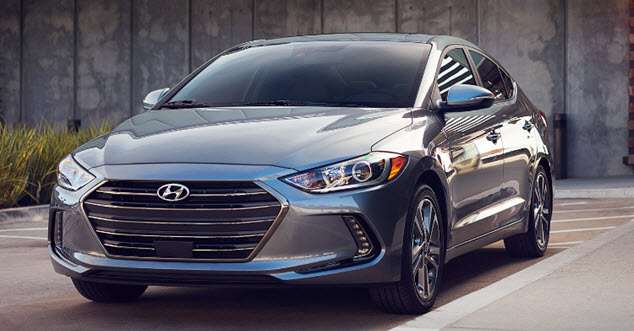 2017 Hyundai Elantra near Detroit Michigan