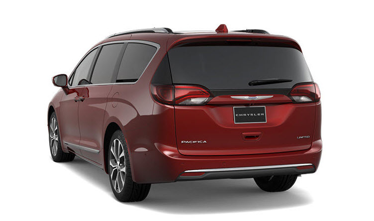 Chrysler dealership near Crystal Lake IL - 2017 Chrysler Pacifica Exterior