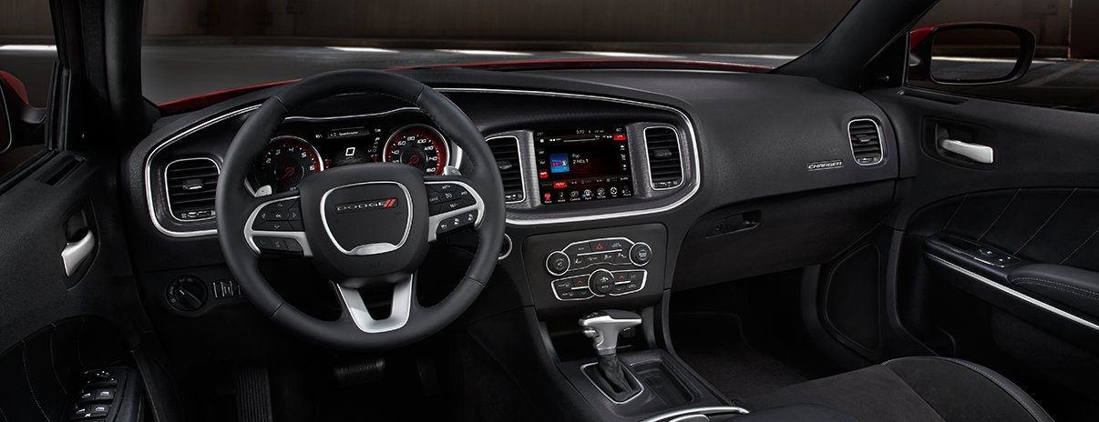 Wabash IN - 2017 Dodge Charger's Interior
