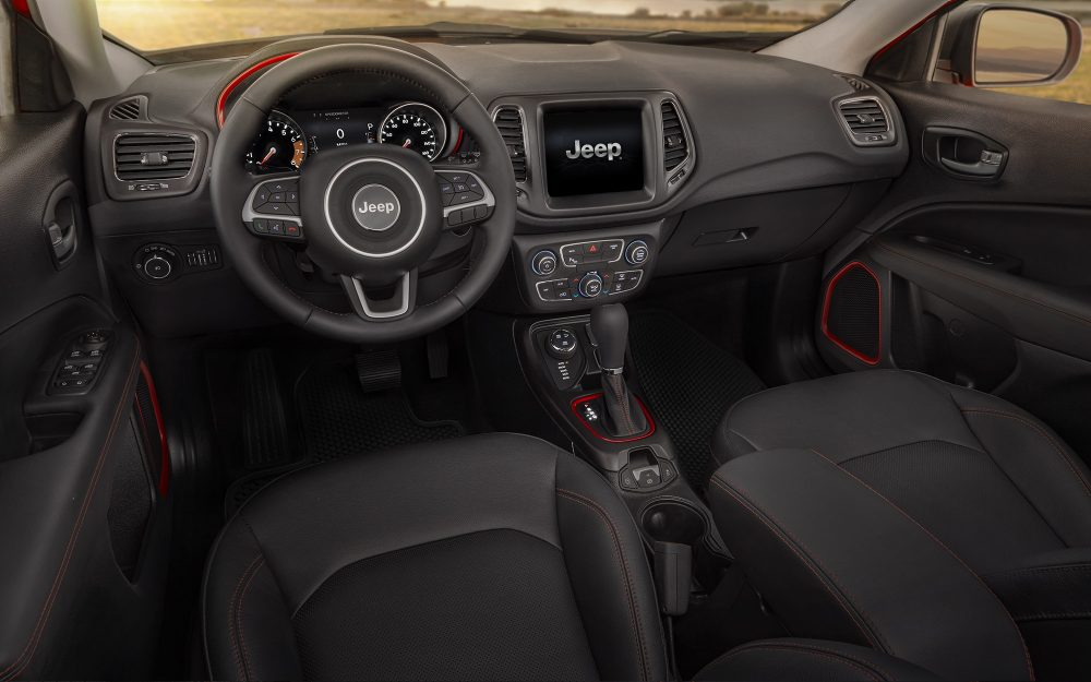 Jeep New Vehicle Dealership - 2017 Jeep Compass Interior