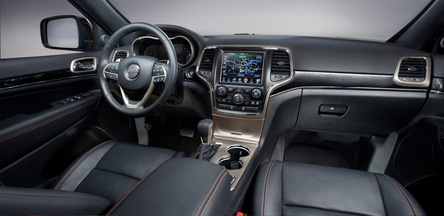 Jeep Grand Cherokee Laredo Interior 2017