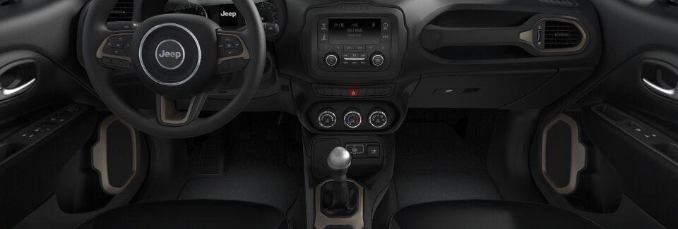 Kokomo IN - 2017 Jeep Renegade Sport's Interior