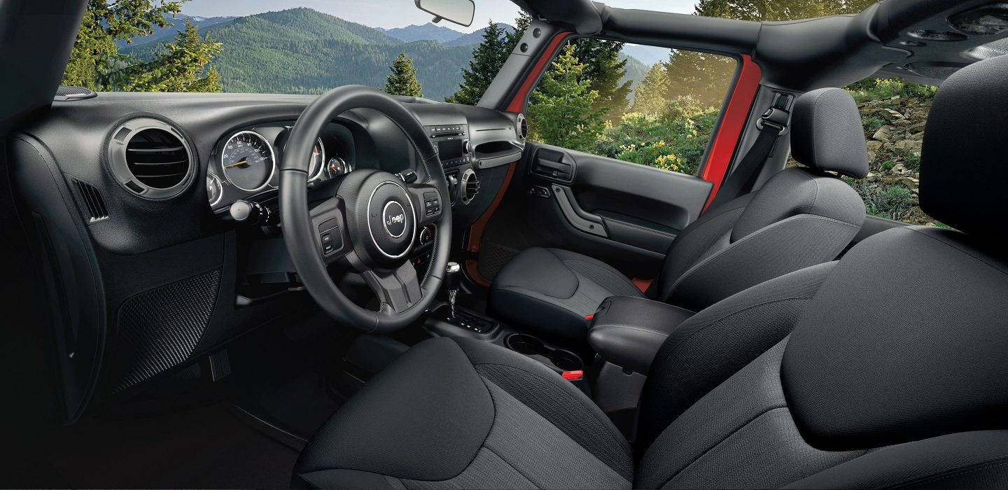 Wabash IN - 2017 Jeep Wrangler's Interior