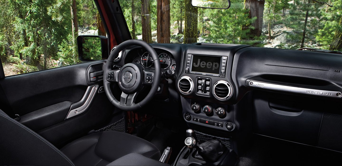 Bunker Hill IN - 2017 Jeep Wrangler's Interior