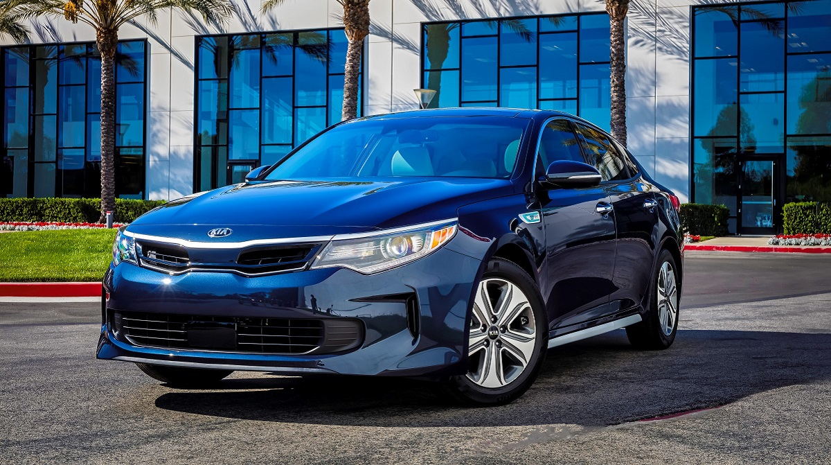 North Carolina 2017 KIA Optima Hybrid