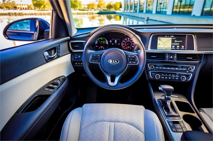 North Carolina - 2017 KIA Optima Hybrid INTERIOR