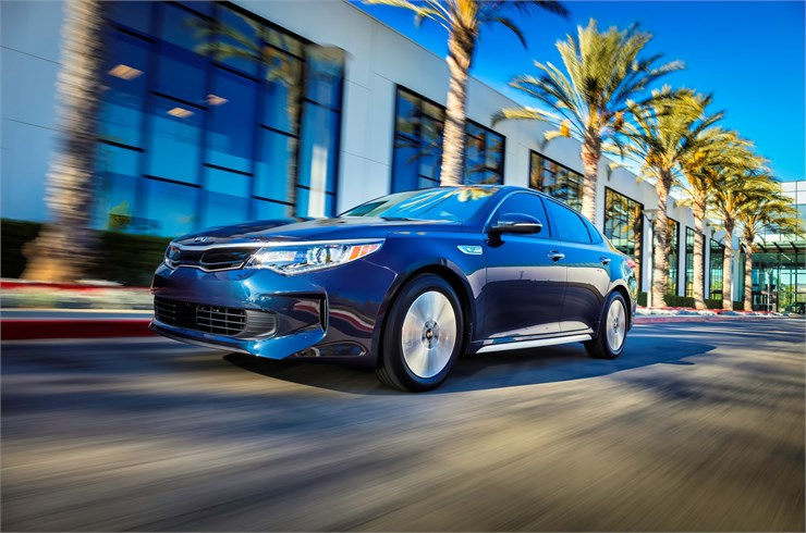 North Carolina - 2017 KIA Optima Hybrid OVERVIEW