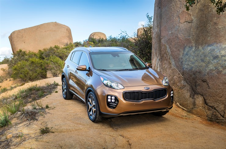 Greenwood Village CO - 2017 KIA Sportage's Exterior