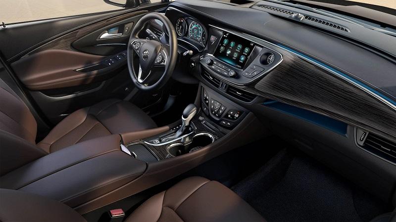 Dubuque IA - 2018 Buick Envision Interior