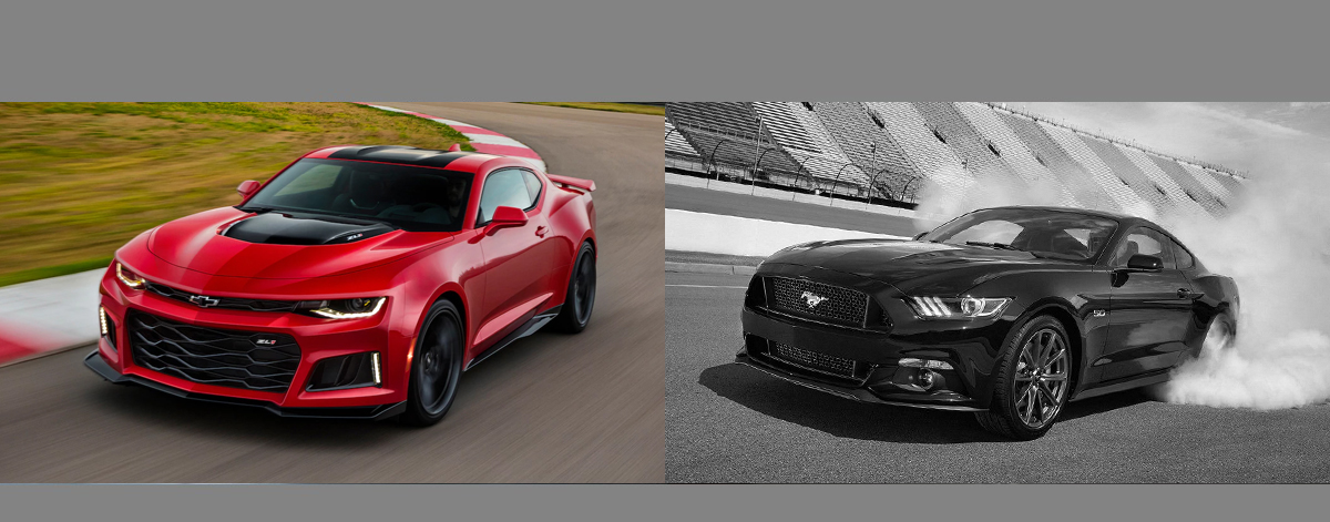 2018 Chevrolet Camaro vs 2018 Ford Mustang l Martinsville IN