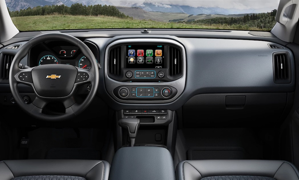 Libertyville IL - 2018 Chevrolet Colorado Interior