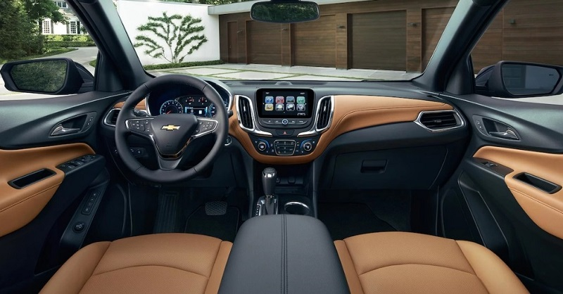 Clinton Iowa - 2018 Chevrolet Equinox Interior