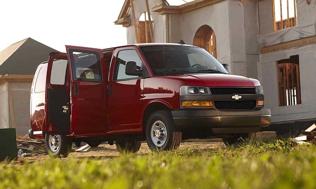 e3d17616c8 Galveston TX - 2018 Chevrolet Express Cargo van Overview