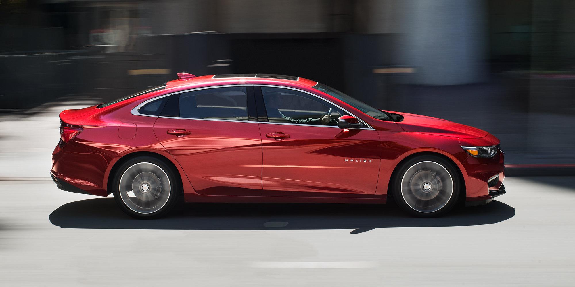 car cars hybrid size chevrolet mid compare malibu lt
