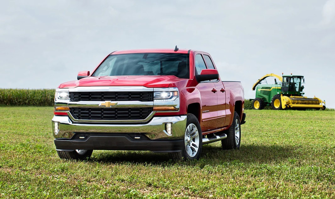 Clinton Area - 2018 Chevrolet Silverado 1500 Overview