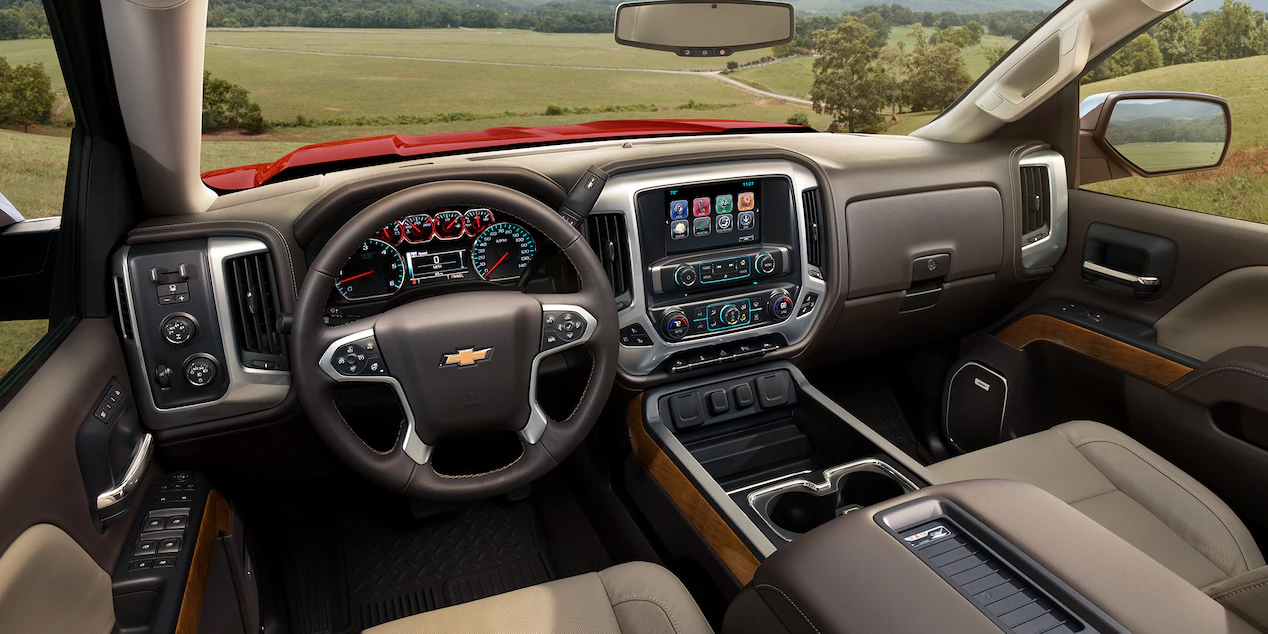 Clinton Area - 2018 Chevrolet Silverado 1500 Interior