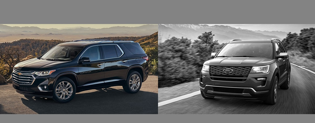 Traverse Vs Explorer >> 2018 Chevrolet Traverse Vs 2018 Ford Explorer L Indianapolis Area