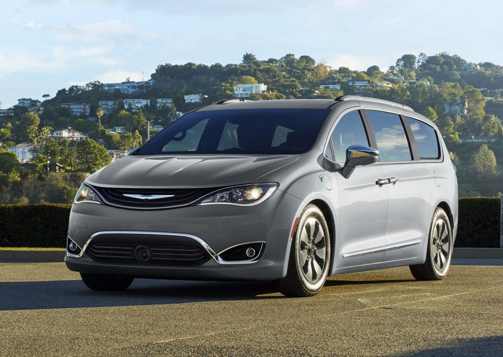 Wabash IN - 2019 Chrysler Pacifica's Exterior