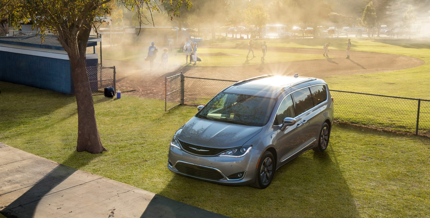 Best Van Killeen Area - 2018 Chrysler Pacifica Exterior