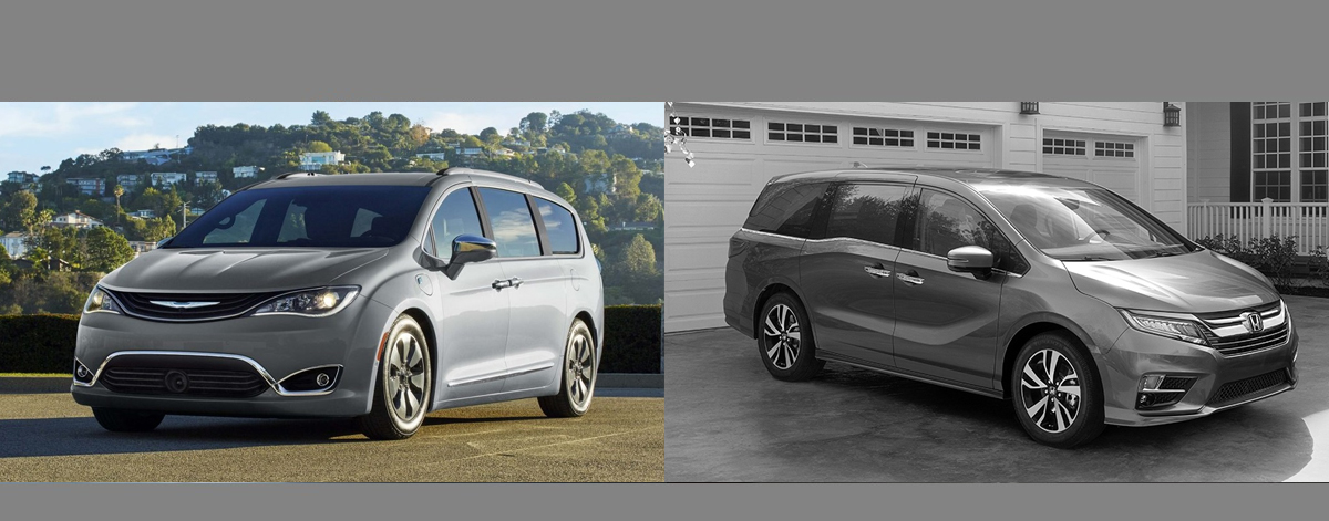 2018 Chrysler Pacifica vs 2018 Honda Odyssey | Lexington NC